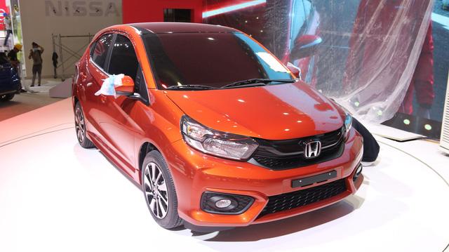 Honda Brio chính thức lộ diện, chờ ngày cạnh tranh Toyota Wigo