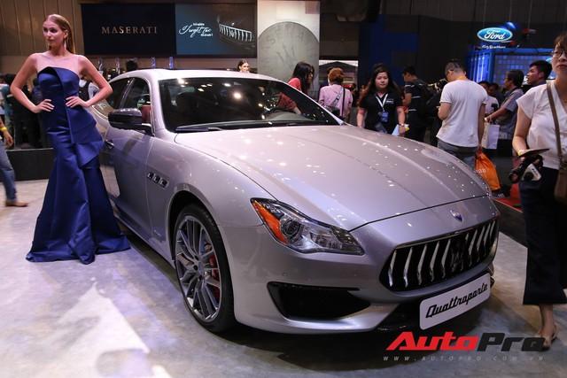 Gian hàng Maserati tại Triển lãm ô tô Việt Nam 2018: Khi sự sang trọng kết hợp yếu tố thể thao - Ảnh 8.