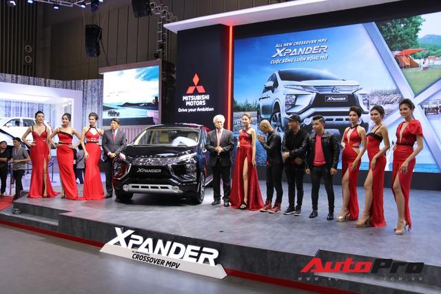 Toàn cảnh gian hàng Mitsubishi tại triển lãm ô tô Việt Nam 2018 - Ảnh 1.