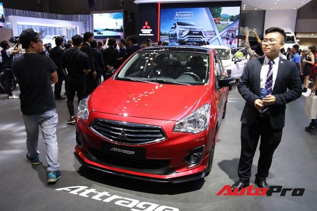 Toàn cảnh gian hàng Mitsubishi tại triển lãm ô tô Việt Nam 2018 - Ảnh 6.