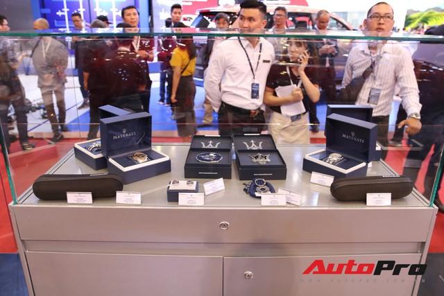 Gian hàng Maserati tại Triển lãm ô tô Việt Nam 2018: Khi sự sang trọng kết hợp yếu tố thể thao - Ảnh 13.
