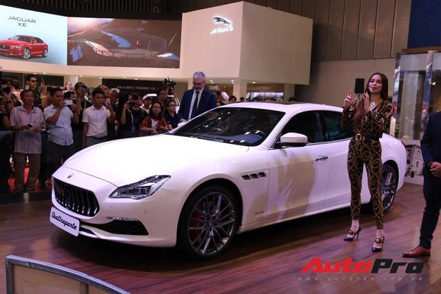 Gian hàng Maserati tại Triển lãm ô tô Việt Nam 2018: Khi sự sang trọng kết hợp yếu tố thể thao - Ảnh 4.