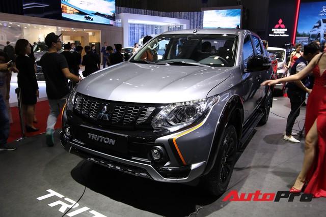 Toàn cảnh gian hàng Mitsubishi tại triển lãm ô tô Việt Nam 2018 - Ảnh 4.