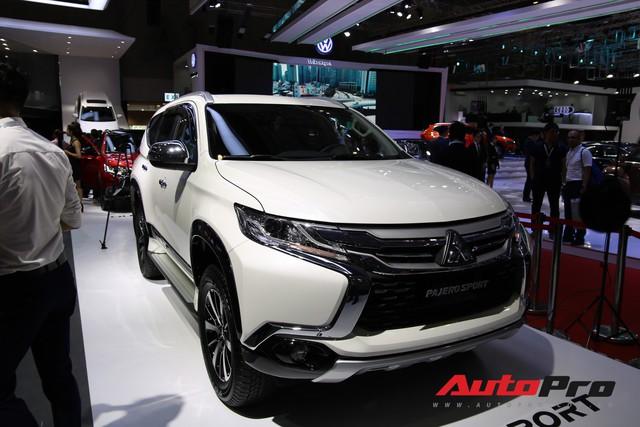 Toàn cảnh gian hàng Mitsubishi tại triển lãm ô tô Việt Nam 2018 - Ảnh 5.
