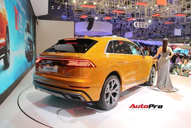 Audi Q8 - SUV đỉnh cao nhất của Audi trình diện khách hàng Việt - Ảnh 3.