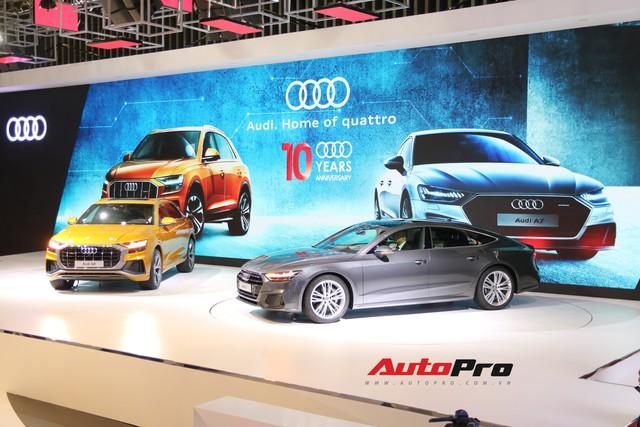Audi Q8 - SUV đỉnh cao nhất của Audi trình diện khách hàng Việt - Ảnh 2.