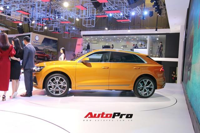 Audi Q8 - SUV đỉnh cao nhất của Audi trình diện khách hàng Việt - Ảnh 1.