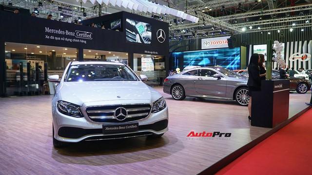 Gian hàng rộng nhất Triển lãm Ô tô Việt Nam 2018 của Mercedes-Benz có gì thú vị? - Ảnh 8.