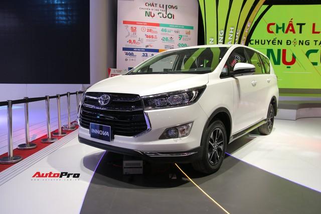 Gian hàng Toyota tại Triển lãm Ô tô Việt Nam 2018 có gì làm điểm nhấn? - Ảnh 1.