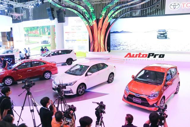 Gian hàng Toyota tại Triển lãm Ô tô Việt Nam 2018 có gì làm điểm nhấn? - Ảnh 6.