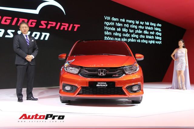Ra mắt Honda Brio đấu Toyota Wigo tại Việt Nam - Ảnh 1.