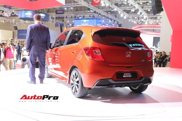 Ra mắt Honda Brio đấu Toyota Wigo tại Việt Nam - Ảnh 3.