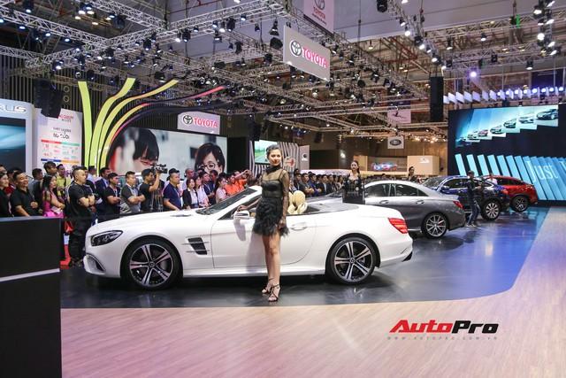 Gian hàng rộng nhất Triển lãm Ô tô Việt Nam 2018 của Mercedes-Benz có gì thú vị? - Ảnh 3.
