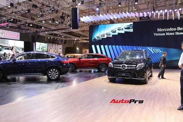 Gian hàng rộng nhất Triển lãm Ô tô Việt Nam 2018 của Mercedes-Benz có gì thú vị? - Ảnh 2.