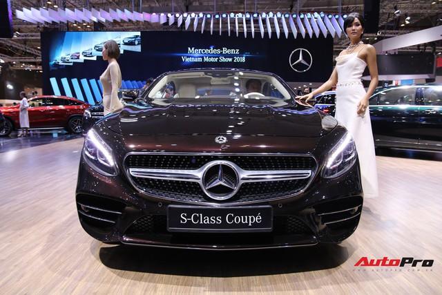Gian hàng rộng nhất Triển lãm Ô tô Việt Nam 2018 của Mercedes-Benz có gì thú vị? - Ảnh 10.