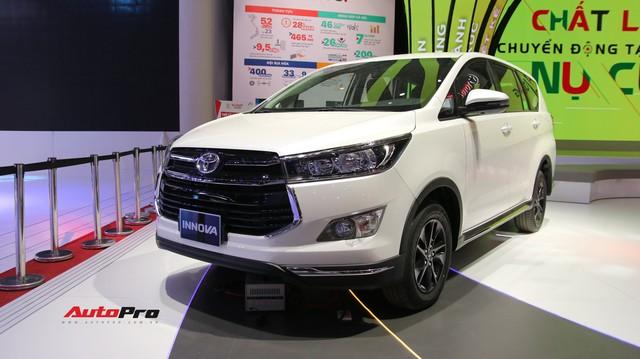 Toyota Innova phiên bản mới chính thức ra mắt, giá từ 752 triệu đồng