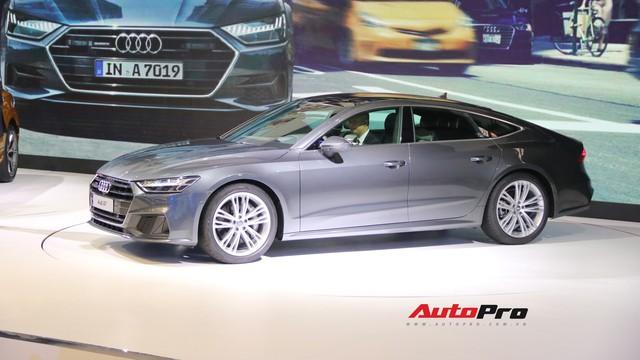 Soi chi tiết Audi A7 Sportback 2018 lần đầu xuất hiện tại Việt Nam