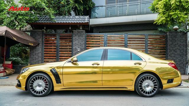Mercedes-Benz S400 độ phong cách nhà giàu Dubai bất ngờ xuất hiện tại Hà Nội - Ảnh 5.