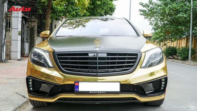 Mercedes-Benz S400 độ phong cách nhà giàu Dubai bất ngờ xuất hiện tại Hà Nội - Ảnh 2.