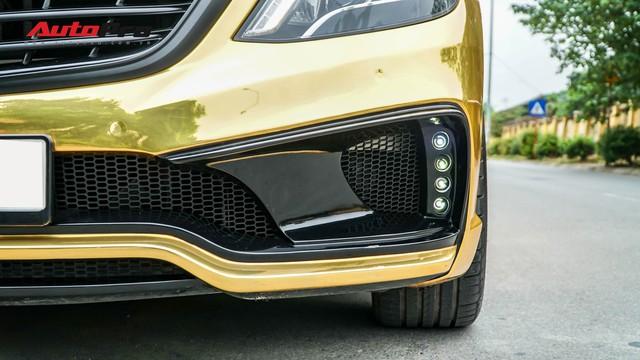 Mercedes-Benz S400 độ phong cách nhà giàu Dubai bất ngờ xuất hiện tại Hà Nội - Ảnh 3.