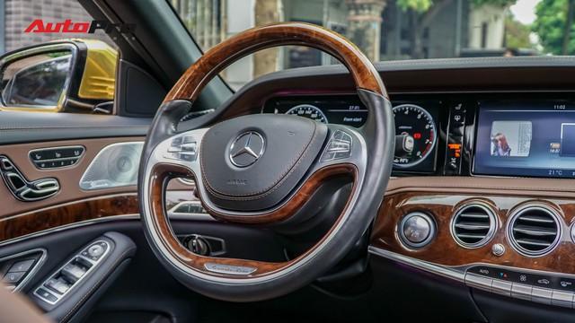 Mercedes-Benz S400 độ phong cách nhà giàu Dubai bất ngờ xuất hiện tại Hà Nội - Ảnh 12.