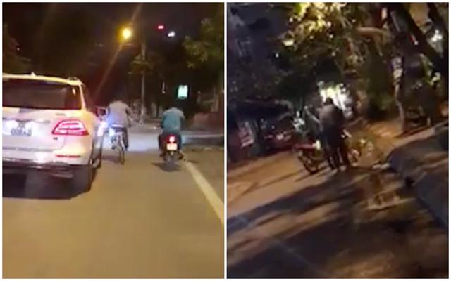 Thanh niên hồn nhiên cưỡi xe đạp vào nhà hàng xin đểu nhưng bất thành và bị đuổi đánh - Ảnh 2.
