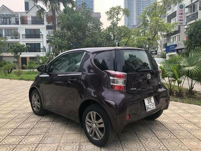 Toyota IQ cũ - Xe cỏ nhưng giá không nhỏ cho dân chơi Việt thích hàng độc - Ảnh 3.
