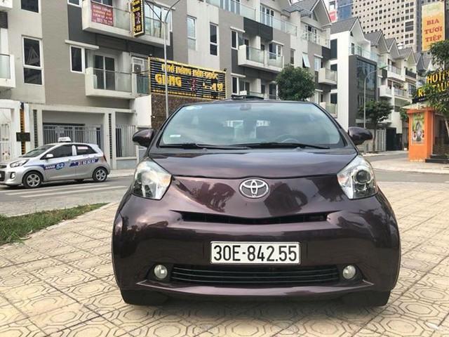 Toyota IQ cũ - Xe cỏ nhưng giá không nhỏ cho dân chơi Việt thích hàng độc - Ảnh 1.