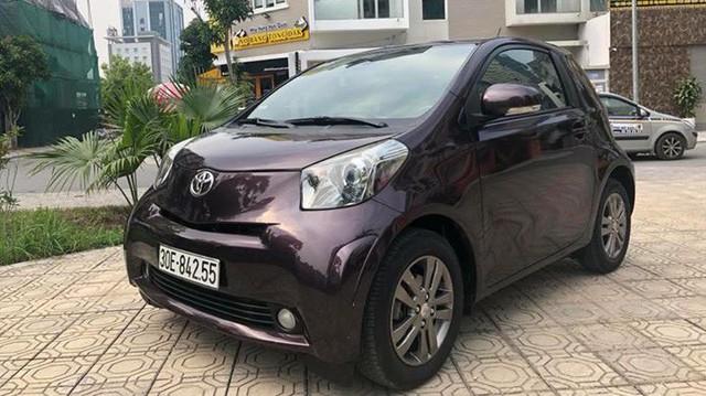 Toyota IQ cũ - Xe cỏ nhưng giá không nhỏ cho dân chơi Việt thích hàng độc