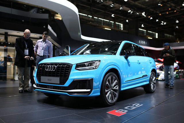 Audi SQ2 trình làng, cạnh tranh BMW X2 M - Ảnh 2.