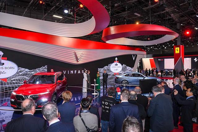 """VinFast được vinh danh giải thưởng """"Ngôi sao mới"""" tại Paris Motor Show. - Ảnh 4."""