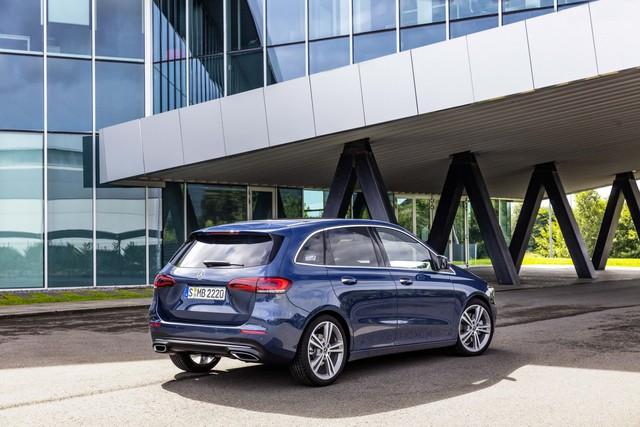 Ra mắt Mercedes-Benz B-Class 2019: Giữ lại ngoại thất, lột xác nội thất - Ảnh 8.