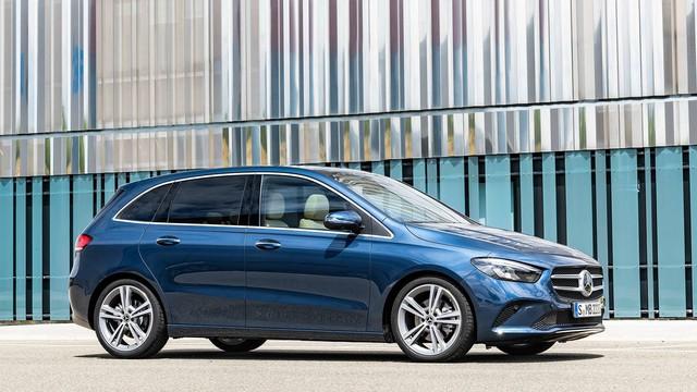 Ra mắt Mercedes-Benz B-Class 2019: Giữ lại ngoại thất, lột xác nội thất - Ảnh 2.