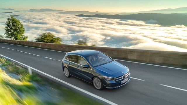 Ra mắt Mercedes-Benz B-Class 2019: Giữ lại ngoại thất, lột xác nội thất - Ảnh 1.