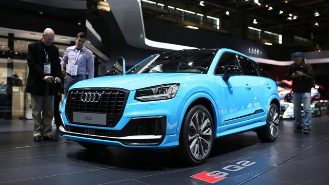 Audi SQ2 trình làng, cạnh tranh BMW X2 M