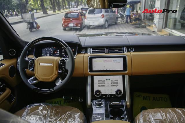 Diện kiến Range Rover Autobiography LWB 2018 phiên bản động cơ mạnh nhất giá 14 tỷ đồng tại Việt Nam - Ảnh 8.