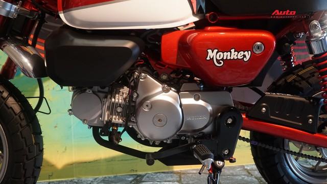 Chi tiết Honda Monkey - Xe khỉ giá ngang Honda SH - Ảnh 9.