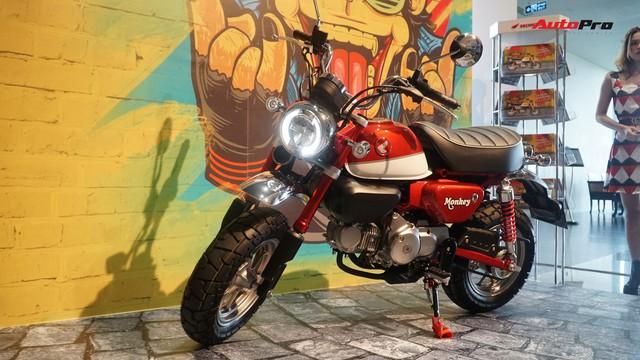 Chi tiết Honda Monkey - Xe khỉ giá ngang Honda SH - Ảnh 1.