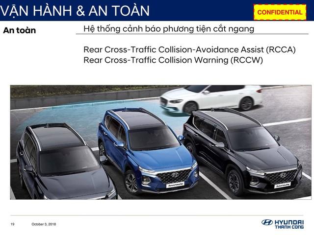 Chi tiết Hyundai Santa Fe 2019 sắp bán ở Việt Nam: Khung cứng hơn, động cơ mạnh hơn, hộp số hoàn toàn mới - Ảnh 10.