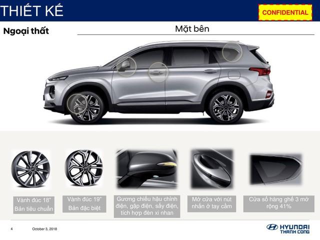 Chi tiết Hyundai Santa Fe 2019 sắp bán ở Việt Nam: Khung cứng hơn, động cơ mạnh hơn, hộp số hoàn toàn mới - Ảnh 2.