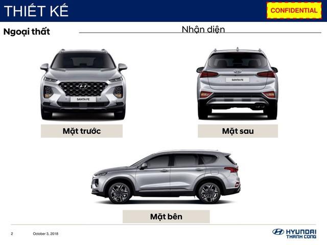 Chi tiết Hyundai Santa Fe 2019 sắp bán ở Việt Nam: Khung cứng hơn, động cơ mạnh hơn, hộp số hoàn toàn mới - Ảnh 3.