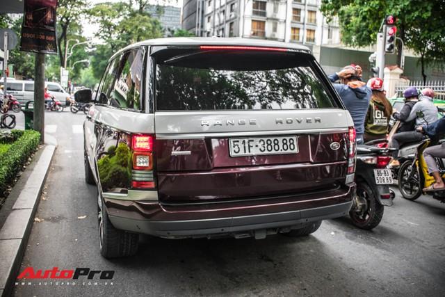 Range Rover Autobiography LWB biển số tứ quý phát với 2 tông màu lạ tại Sài Gòn - Ảnh 1.