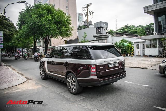 Range Rover Autobiography LWB biển số tứ quý phát với 2 tông màu lạ tại Sài Gòn - Ảnh 3.