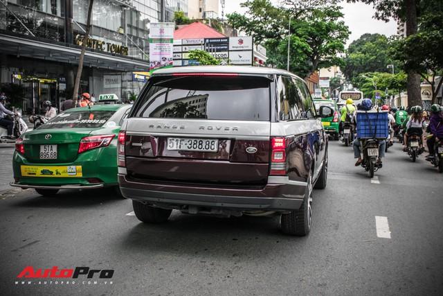 Range Rover Autobiography LWB biển số tứ quý phát với 2 tông màu lạ tại Sài Gòn - Ảnh 4.