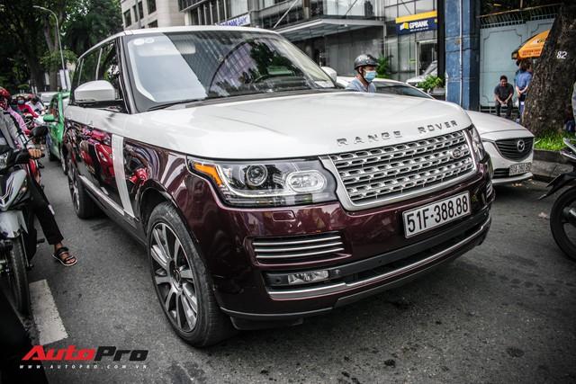 Range Rover Autobiography LWB biển số tứ quý phát với 2 tông màu lạ tại Sài Gòn - Ảnh 2.