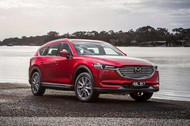 Đại lý nhận đặt cọc Mazda CX-8, giá tạm tính từ 1,15 tỷ đồng, đe doạ Hyundai Santa Fe - Ảnh 1.