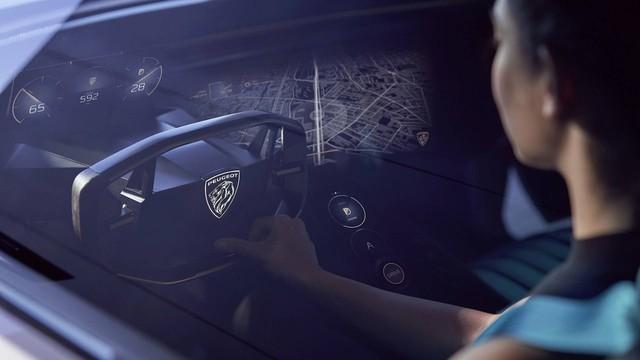 Peugeot e-Legend Concept - Xe thể thao có nội thất dát hàng loạt màn hình, lớn nhất 49 inch - Ảnh 4.
