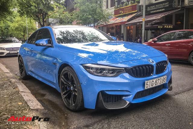 BMW M4 Coupe màu hiếm Yas Marina xuất hiện tại Sài Gòn - Ảnh 1.