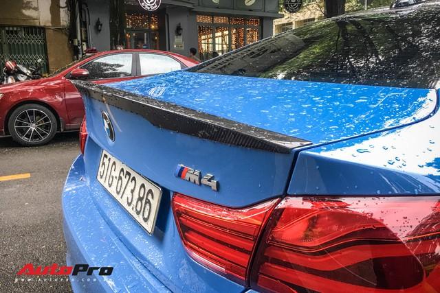 BMW M4 Coupe màu hiếm Yas Marina xuất hiện tại Sài Gòn - Ảnh 11.