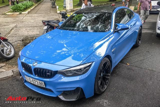 BMW M4 Coupe màu hiếm Yas Marina xuất hiện tại Sài Gòn - Ảnh 3.